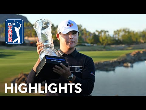 Si Woo KIm's winning highlights from The American Express