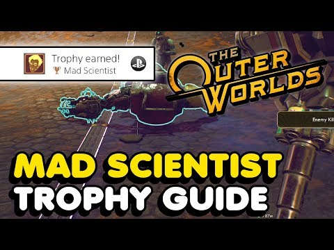 The Outer Worlds - Mad Scientist Trophy Guide (Easy Method)