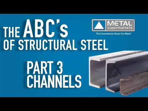 ABCs Of Structural Steel - Part 3: Channels | Metal Supermarkets