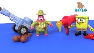 Губка Боб Квадратные Штаны Мультик – СТРЕЛЯЮТ ЕДОЙ! ААА! Смотреть Губка Боб. Спанч Боб