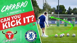 Jorginho, Morata & Hudson-Odoi Ultimate Shoot-Out | CAN YOU KICK IT?