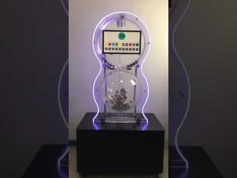 smart draw machine for keno/lottery/bingo games