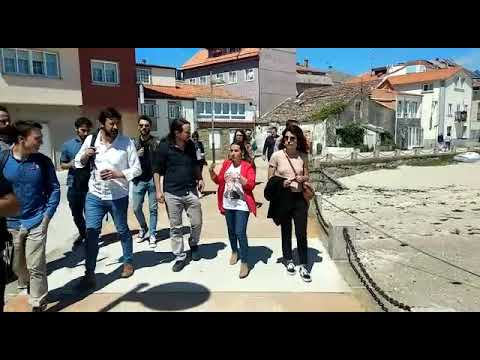 Pablo Iglesias apoya a Marea da Vila en Vilagarcía
