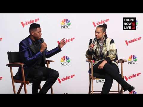 The Voice Season 12 Winner Chris Blue & Alicia Keys Talk Usher Performance in Light of Manchester