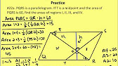How to find the ratio of areas in a trapezoid math calculations 1439 ccuart Choice Image