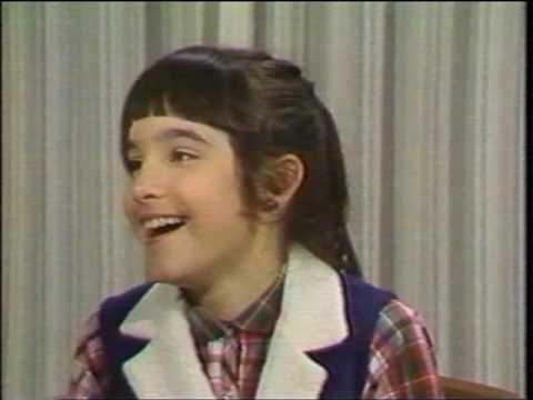 with Danielle Brisebois 1980