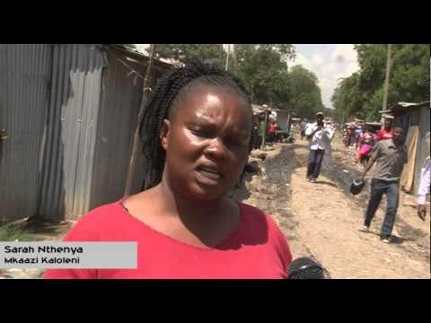 Misingi ya Nyumba Kaloleni kutofunikwa. | Pit latrines In Kaloleni,Nairobi casusing health issues.