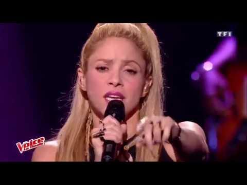 Shakira & Black M (Feat. Lucie) - Comme Moi (The Voice La Finale Saison 6)