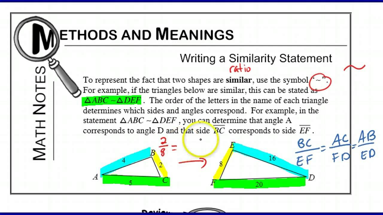 Holt McDougal Geometry 7-3 Triangle Similarity: AA, SSS, SAS 7-3 ...
