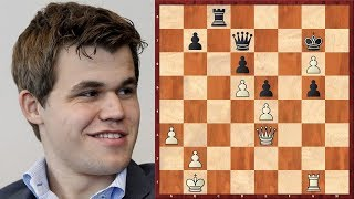 Шахматы. Карлсен - Топалов. ИНТЕРЕСНОЕ СРАЖЕНИЕ в староиндийской защите!