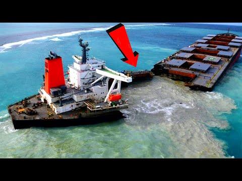 Top 10 Big Ships Crashing Compilation ! Idiots Driver Skills
