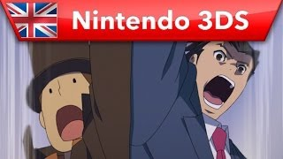 Professor Layton vs Phoenix Wright: Ace Attorney - Launch Trailer (Nintendo 3DS)