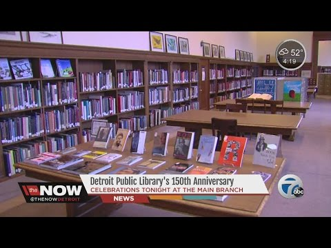 Detroit Public Library celebrating 150th anniversary
