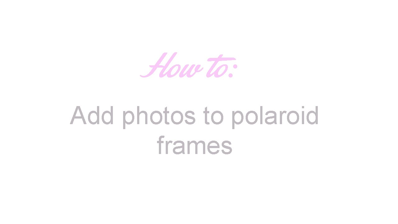 How to: Add photos to polaroid frames with Picsart | Apps4androidd ...