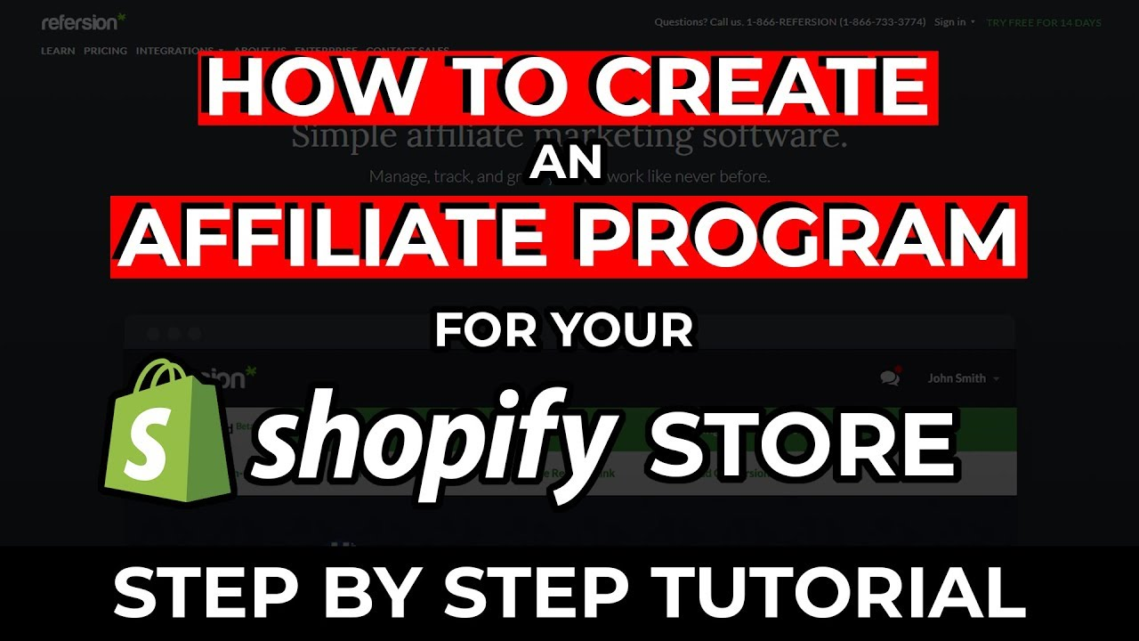 How To Start An Affiliate Program For Your Shopify Store