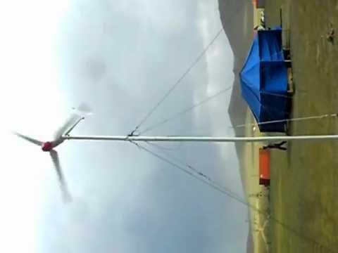 wind turbine mongolia
