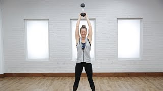 5 Moves to Use Your Free Weight as a Kettlebell | Class FitSugar