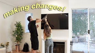 making MAJOR changes to my new house!!!!