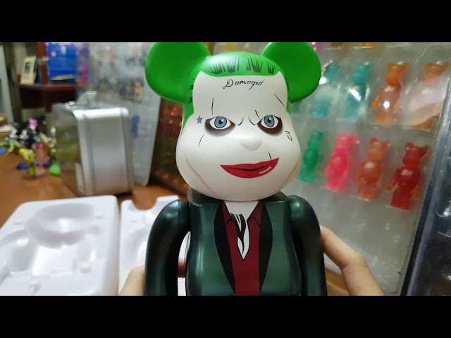 Review Be@rbrick Joker Suicide Squad size 400%