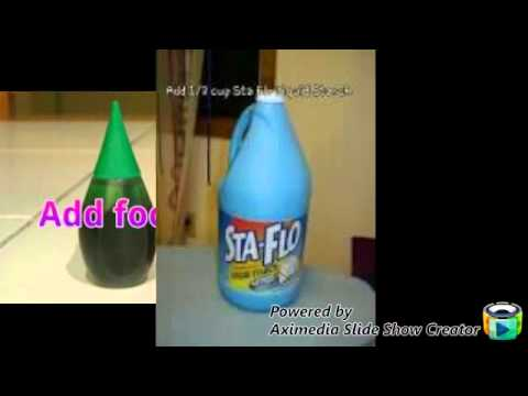 How To Make Slime With Liquid Starch - YouTube