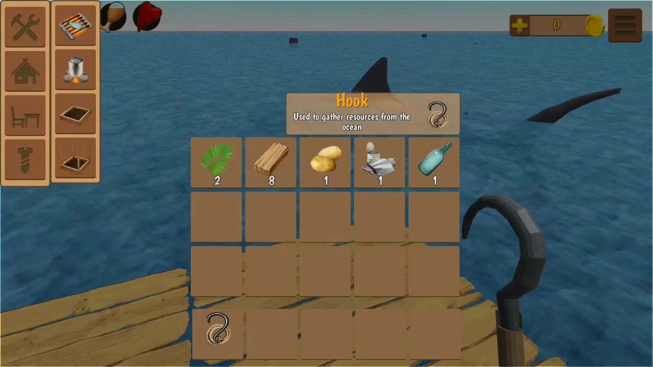 Oceanborn: Raft Survival Craft [GAMEPLAY/HD]