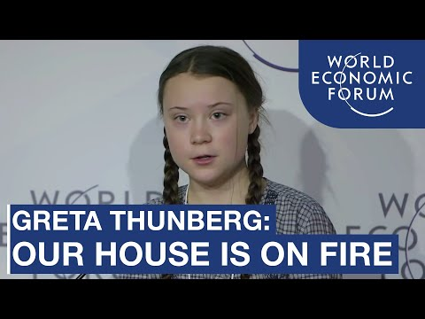 Greta Thunberg | Special Address, Annual Meeting of the Worl