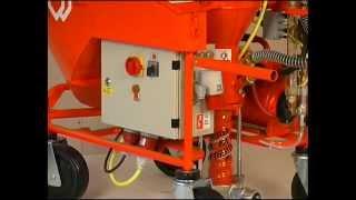 Устройство машины PFT G4(Устройство машины PFT G4 для механизированной штукатурки., 2013-09-24T16:52:01.000Z)