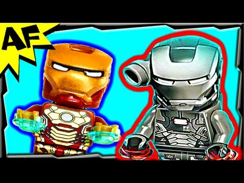 Iron Man WAR MACHINE EXTREMIS Sea Port Battle 76006 Lego Marvel Super Heroes Animated Review