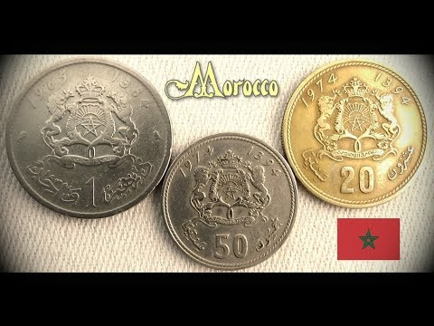 Coin collection | Morocco | 3 Coins ( Santima / Dirham ) from 1965