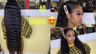 40 Inch Hair With Crimps 😍| Dola Hair |