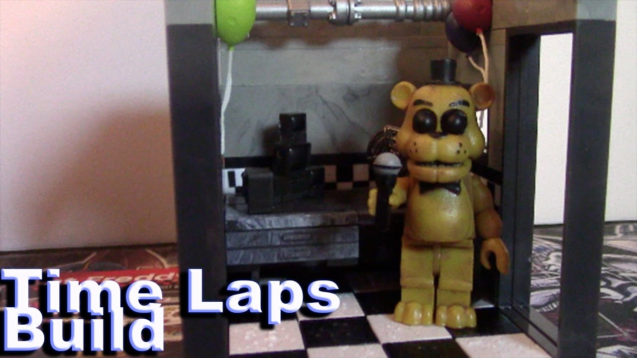 More five nights at freddy s construction sets coming soon - Five Nights At Freddys Construction Set The Office Time Laps