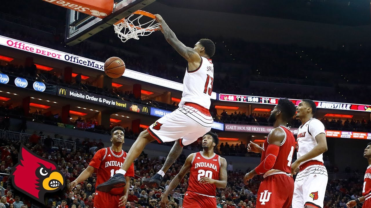 Ray Spalding's Double-Double Spurs Cardinals Victory vs. Indiana