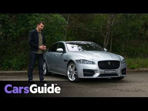 Jaguar XF R-Sport 25t 2017 review | road test video