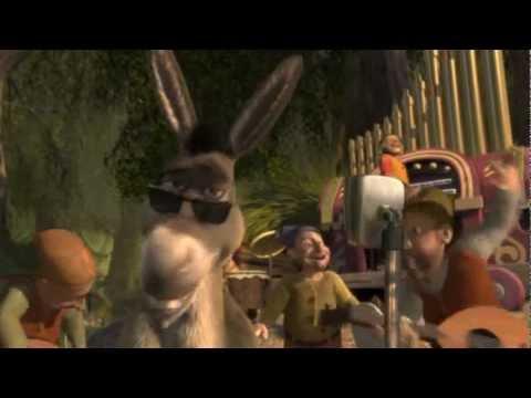 Retrospectiva - vídeo Shrek I'm a believer para encerramento