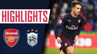 Download Video Huddersfield Town 1-2 Arsenal | Goals and highlights MP3 3GP MP4
