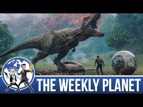 Jurassic World Fallen Kingdom Trailer - The Weekly Planet Po