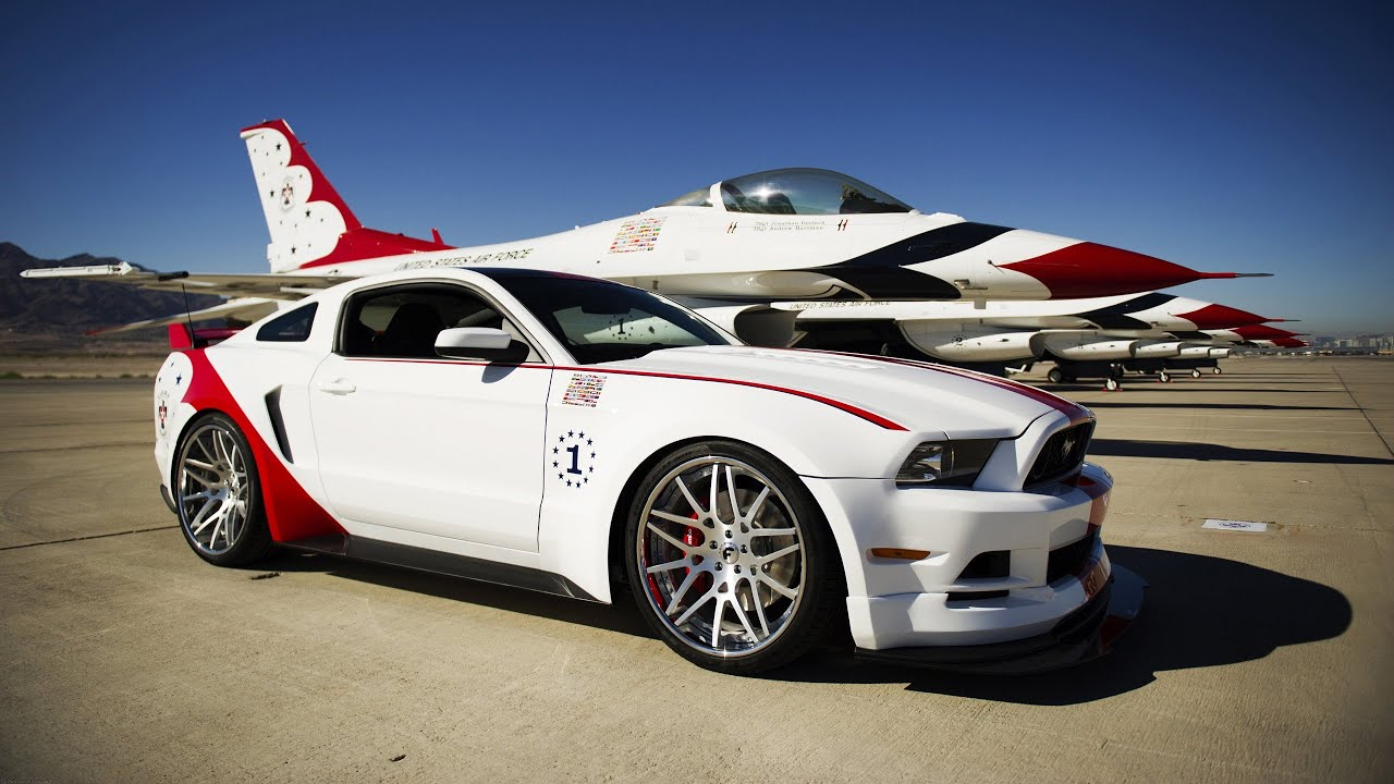 2014 U S Air Force Thunderbirds Edition Ford Mustang Gt 5 0 V8 420 Hp