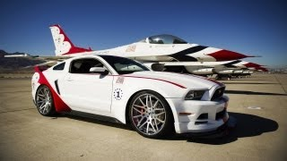 Ford Mustang GT Thunderbirds Edition 2014 Videos