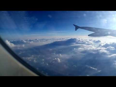 Travel by flight from Bangalore to delhi / evening flight travel