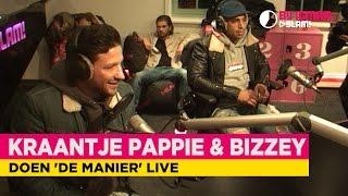 Kraantje Pappie & Bizzey doen 'De Manier' live! | Bij Igmar