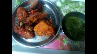 Tandoori chicken recipe /Tandoori chicken recipe in microwave oven