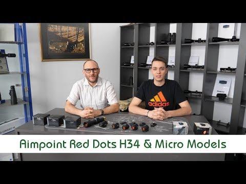 Aimpoint Red Dot Hunter H34 VS Aimpoint Micro models   Optics Trade Debates