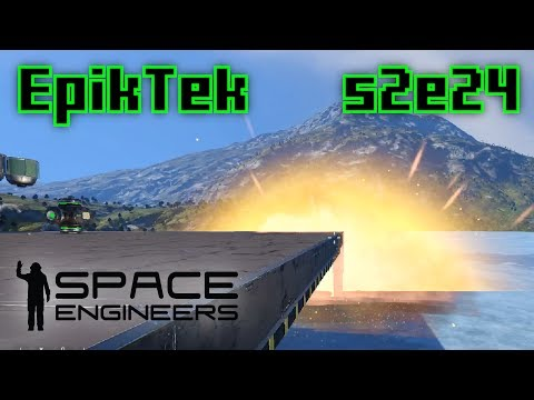 Building a Space Port - Space Engineers S2E24