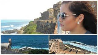 SAN JUAN, PUERTO RICO: El Morro, Empanada, Old San Juan!
