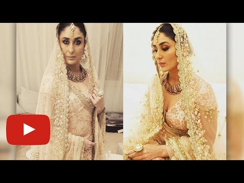 Kareena Kapoor FIRST Rampwalk In 2018, Turns Bride In Doha, Qatar | Shop Qatar Festival 2018