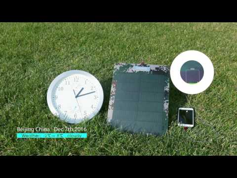 Hanergy 8w solar charger