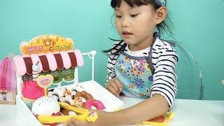 라임의 콩순이 부푸러 빵가게 빵 만들기 장난감 놀이 LimeTube & Toy 라임튜브