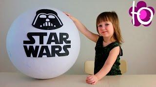 Звездные войны Огромное яйцо с сюрпризом открываем игрушки Giant star wars egg