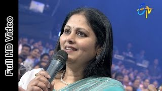Actress Jayasudha in ETV @ 20 Years Celebrations - 16th August 2015