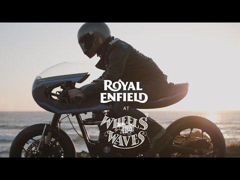 Royal Enfield at Wheels & Waves - Part 2